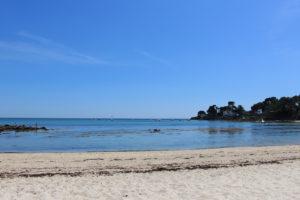 La plage de Beaumer à Carnac