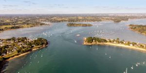 Le Golfe du Morbihan vu du ciel copyright Simon BOURCIER - Morbihan Tourisme