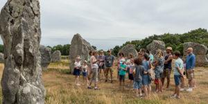 Visite guidée à Carnac